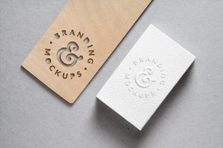 Cutout-Wood-Embossed-B-Card-MockUp