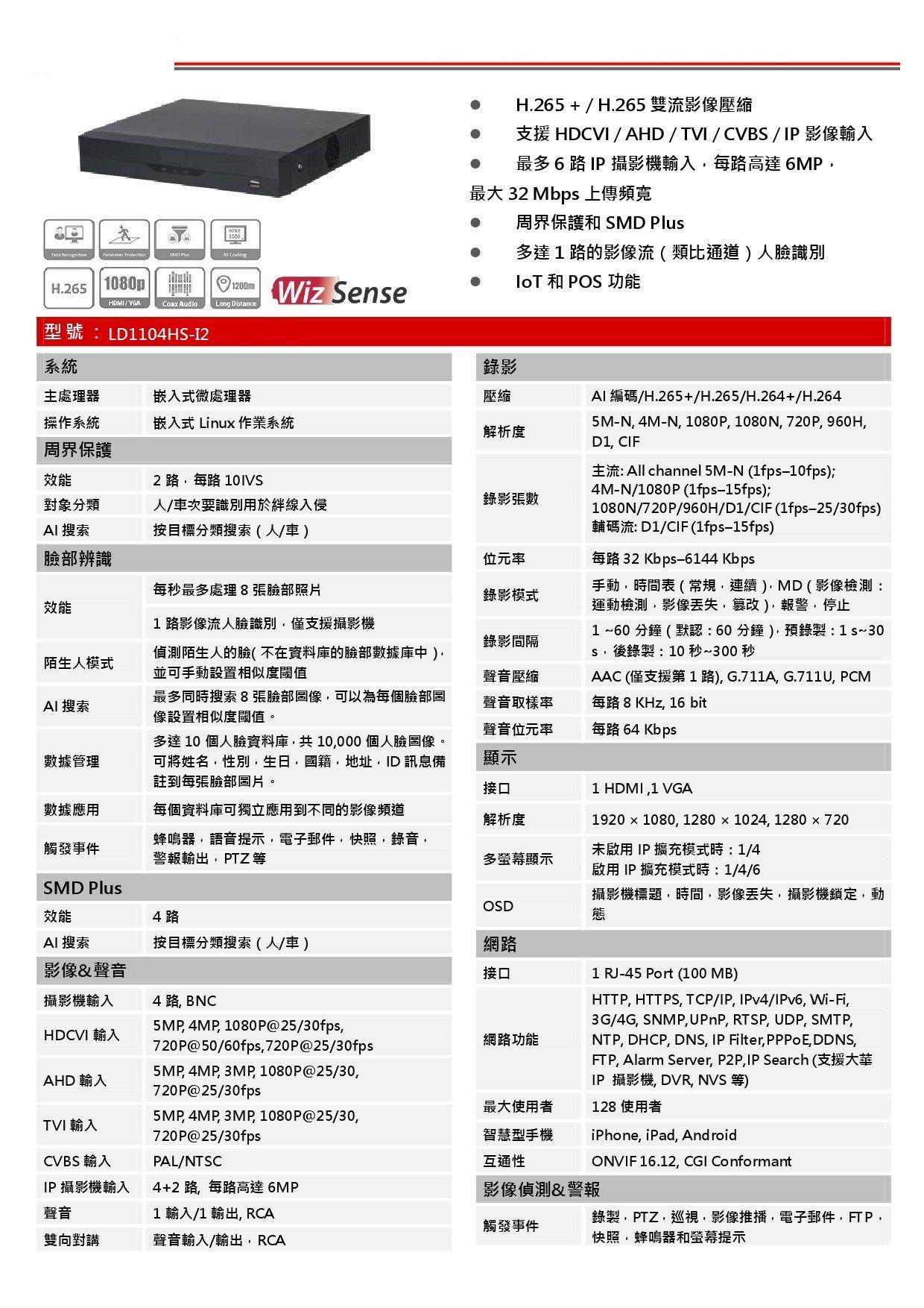 4CH監控系統DIY套餐
