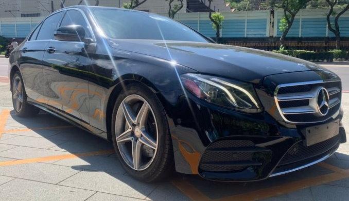 賓士中古車-2017 BENZ E300 AMG 4D 里程3萬 售價148萬