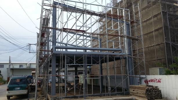 中部金屬鐵件、樓層鋼板、木板夾層、電動捲門、各式樓梯、造型鐵件設計製造